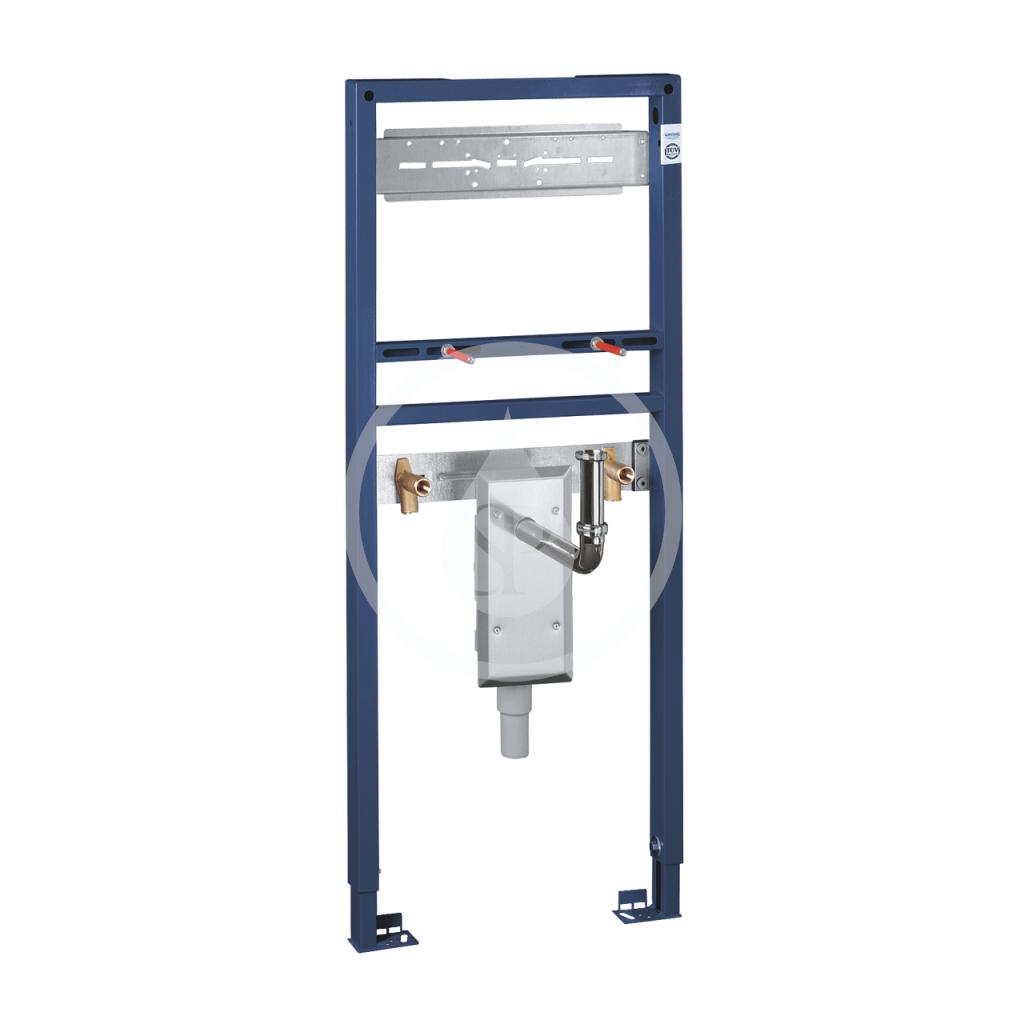 GROHE - Rapid SL Předstěnová instalace pro umyvadlo, stavební výška 130 cm, podomítková zápachová uzávěra (38625001)