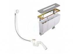 KLUDI - Rotexa Súprava odtokovej súpravy a telesa na okraj vane, na 4-otvorovú batériu (7878205-00)