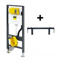 VIEGA  s.r.o. - Viega Prevista modul DRY CZ jádrofix pro WC 1120 mm model 8522 s napojením sprchy (V 771980CZ)