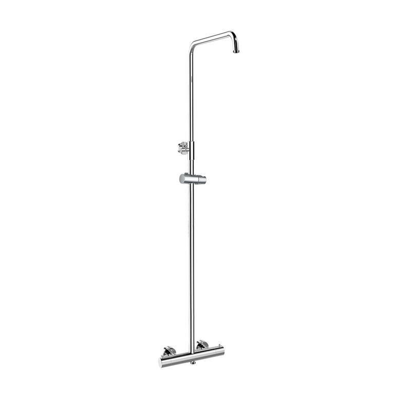 MEREO - Termostatická nástenná sprchová batéria so sprchovou súpravou bez prísl. (tanier, sprcha, hadica) CB60104TS1