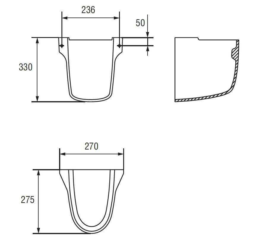CERSANIT - Polostĺp PRESIDENT (K08-012) 2.akosť