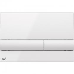 ALCAPLAST  Renovmodul - predstenový inštalačný systém s bielym tlačidlom M1710 + WC JIKA PURE + SEDADLO duraplast (AM115/1000 M1710 PU1), fotografie 14/11
