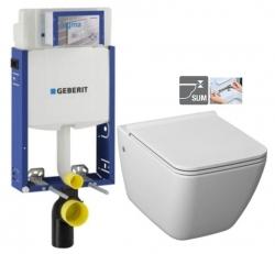 GEBERIT KOMBIFIX ECO, nádržka UP 320 bez ovládacej dosky + WC JIKA PURE + SEDADLO duraplast (110.302.00.5 PU1)