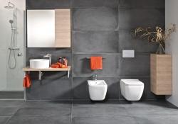 JOMO modul pre zamurovanie bez sedátka + WC JIKA PURE + SEDADLO duraplast (164-14600479-00 PU1), fotografie 12/14