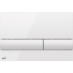 ALCAPLAST  Sádromodul - predstenový inštalačný systém s bielym tlačidlom M1710 + WC JIKA PURE + SEDADLO duraplast (AM101/1120 M1710 PU1), fotografie 20/15