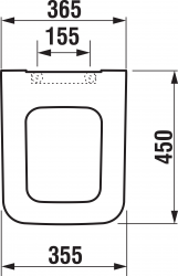 ALCAPLAST  Sádromodul - predstenový inštalačný systém s bielym / chróm tlačidlom M1720-1 + WC JIKA PURE + SEDADLO duraplast (AM101/1120 M1720-1 PU1), fotografie 2/15