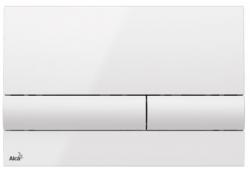 ALCAPLAST  Jádromodul - predstenový inštalačný systém s bielym tlačidlom M1710 + WC JIKA PURE + SEDADLO duraplast (AM102/1120 M1710 PU1), fotografie 24/15