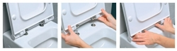 ALCAPLAST  Renovmodul - predstenový inštalačný systém s bielym / chróm tlačidlom M1720-1 + WC JIKA PURE + SEDADLO duraplast (AM115/1000 M1720-1 PU1), fotografie 16/15