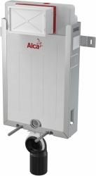 ALCAPLAST  Renovmodul - predstenový inštalačný systém s bielym / chróm tlačidlom M1720-1 + WC JIKA PURE + SEDADLO duraplast (AM115/1000 M1720-1 PU1), fotografie 20/15
