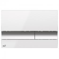ALCAPLAST  Renovmodul - predstenový inštalačný systém s bielym / chróm tlačidlom M1720-1 + WC JIKA PURE + SEDADLO duraplast (AM115/1000 M1720-1 PU1), fotografie 24/15