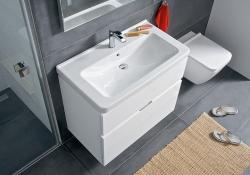 LAUFEN Rámový podomietkový modul CW1 SET s bielym tlačidlom + WC JIKA PURE + SEDADLO duraplast (H8946600000001BI PU1), fotografie 12/15