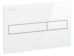 LAUFEN Rámový podomietkový modul CW1 SET s bielym tlačidlom + WC JIKA PURE + SEDADLO duraplast (H8946600000001BI PU1), fotografie 24/15