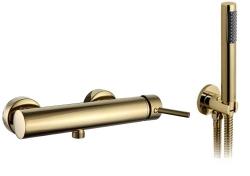 REA - Podomietková sprchová batéria Lungo L. zlatá (REA-B6636)
