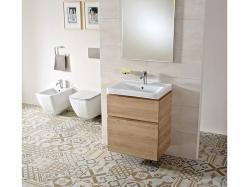 VIEGA Presvista modul PURE pre WC vrátane tlačidla Style 20 bielej + WC JIKA PURE + SEDADLO duraplast (V771928 STYLE20BI PU1), fotografie 6/18