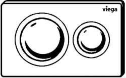 VIEGA Presvista modul PURE pre WC vrátane tlačidla Style 20 bielej + WC JIKA PURE + SEDADLO duraplast (V771928 STYLE20BI PU1), fotografie 26/18