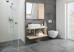 JOMOTech modul pre závesné WC s bielou doskou + WC JIKA PURE + SEDADLO SLOWCLOSE duraplast (174-91100900-00 PU2), fotografie 8/20