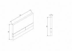 JOMOTech modul pre závesné WC s bielou doskou + WC JIKA PURE + SEDADLO SLOWCLOSE duraplast (174-91100900-00 PU2), fotografie 34/20