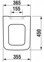 JOMOTech modul pre závesné WC s bielou doskou + WC JIKA PURE + SEDADLO SLOWCLOSE duraplast (174-91100900-00 PU2), fotografie 40/20
