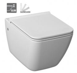 ALCAPLAST  Renovmodul - predstenový inštalačný systém s bielym tlačidlom M1710 + WC JIKA PURE + SEDADLO SLOWCLOSE duraplast (AM115/1000 M1710 PU2), fotografie 16/18