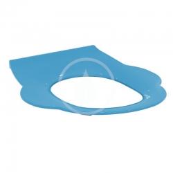 IDEAL STANDARD - Contour 21 WC detská doska bez poklopu, modrá (S454236)