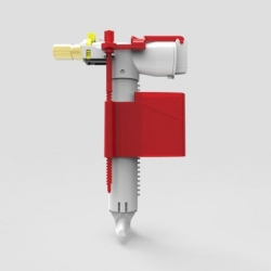 """Sanit napouštěcí ventil WC boční 1/2"""" x 40mm plast 510 MULTIFLOW 25.007.00.0002 (SA25007000002)"""