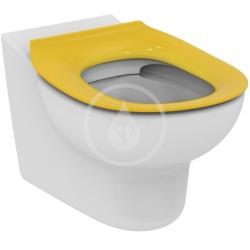 IDEAL STANDARD - Contour 21 WC sedadlo detské 7 – 11 rokov (S3128 a S3126) bez poklopu, žltá (S454579)