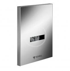 SCHELL - Compact II Infračervený splachovač pisoára EDITION E, batériová prevádzka, chróm (028060699)