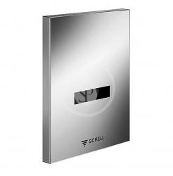 SCHELL - Compact II Infračervený splachovač pisoára EDITION E, batériová prevádzka, alpská biela (028061599)