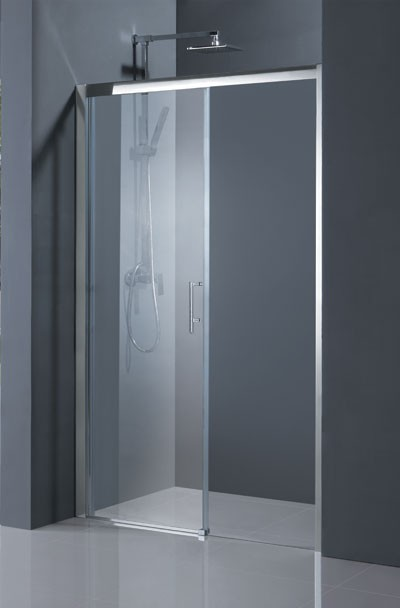 HOPA - Sprchové dveře ESTRELA - Barva rámu zástěny - Hliník chrom, Rozměr A - 130 cm, Směr zavírání - Levé (SX), Výplň - Čiré bezpečnostní sklo - 6 mm (BCESTR13CCL)