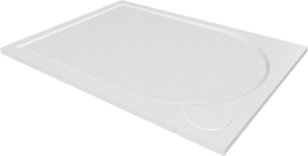 HOPA - Obdĺžniková mramorová sprchová vanička Laka - Rozmer A - 100 cm, Rozmer B - 90 cm VANKCOBDEL1090