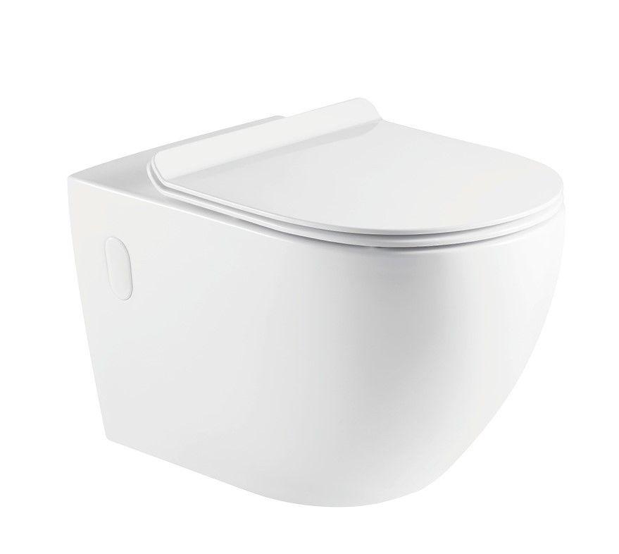 HOPA - Závesné WC ARCO II. RIMLESS sa SLIM sedadlom Soft-close OLKLT2141ER