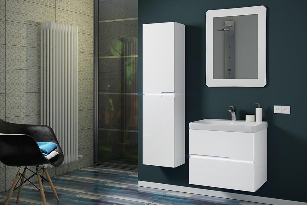HOPA - Skrinka s umývadlom VENECIA 50/60 - Rozmer A - 60 cm OLKWE160 + OLNWE160