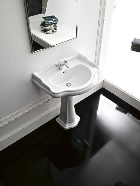 KERASAN - RETRO keramické umývadlo 56x46,5cm (104501)