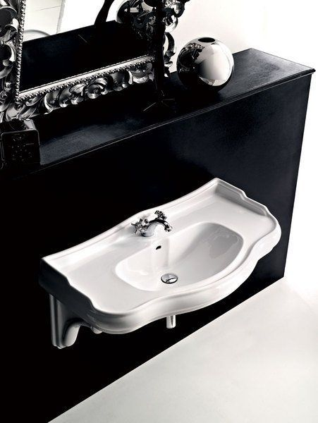 KERASAN - RETRO keramické umývadlo 100x54,5cm (105001)