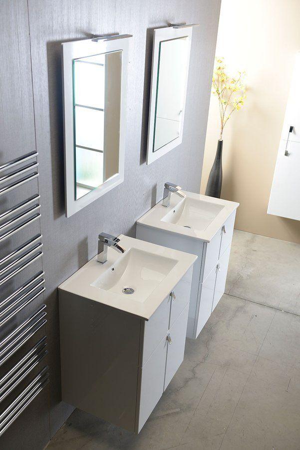 SAPHO - SLIM keramické umývadlo 60x46cm, nábytkové (1601-60)