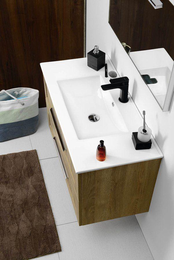 SAPHO - SLIM keramické umývadlo 90x46cm, nábytkové (1601-90)