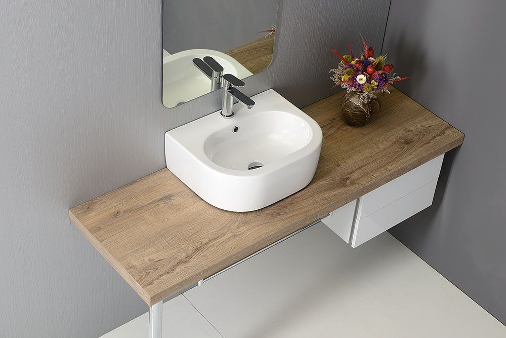 KERASAN - FLO keramické umývadlo 50x40cm (314101)