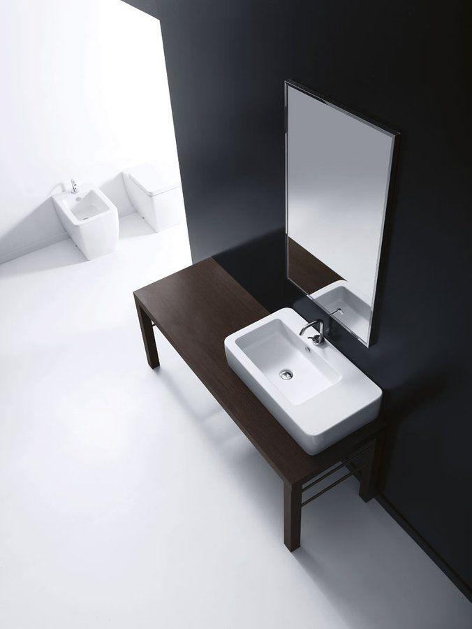 KERASAN - EGO keramické umývadlo 75x43cm (324301)