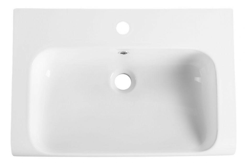 KERASAN - INKA keramické umývadlo 60x40cm, biela (341101)