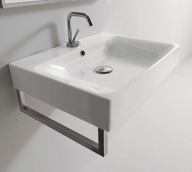 KERASAN - CENTO keramické umývadlo 60x45cm (353101)