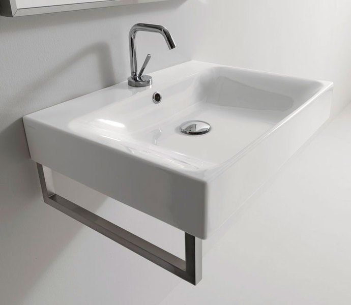 KERASAN - CENTO keramické umývadlo 80x45cm (353301)