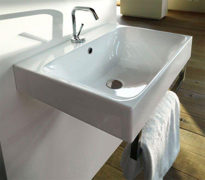 KERASAN - CENTO keramické umývadlo 60x45cm, hluboké (354501)