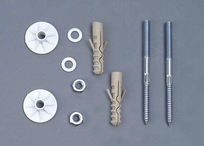 AQUALINE - UAK14 komplet pre kotvenie umyvadel, skrutka 10x120 (40017)