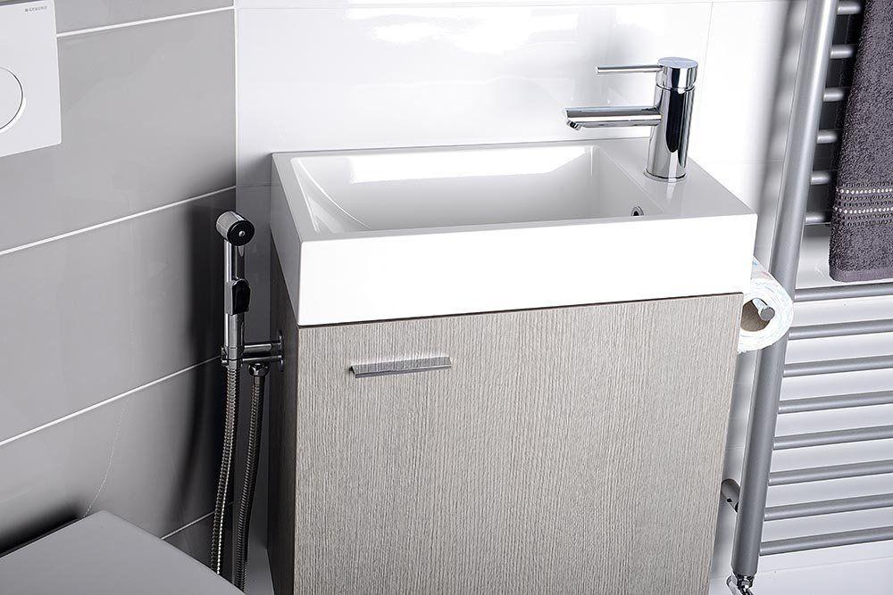 SAPHO - THIEMA umývadlo 50x10x25cm, liaty mramor, biela (460511)