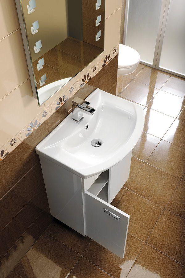 AQUALINE - ZERO nábytkové umývadlo 75x48,5cm (6075)