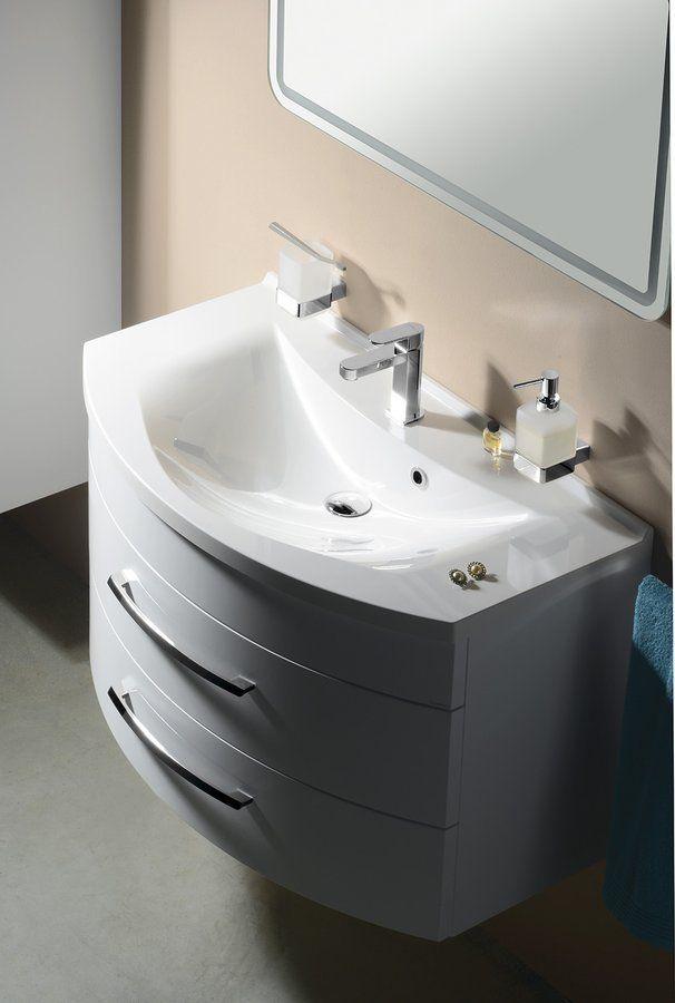 SAPHO - ARAS umývadlo 90x50,5cm, liaty mramor, biela (90911)
