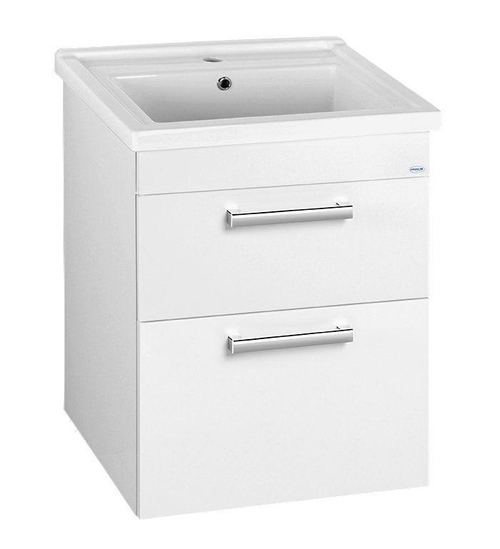 AQUALINE - ZENO 60 nábytkové umývadlo 60x48, 5cm (8060)