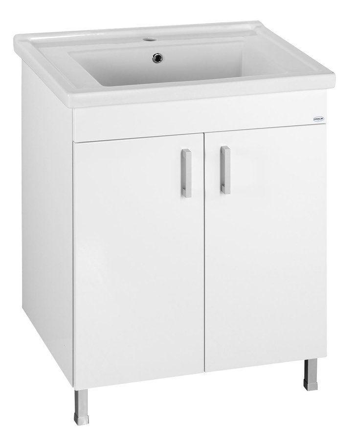 AQUALINE - ZENO 70 nábytkové umývadlo 70x48, 5cm (8070)