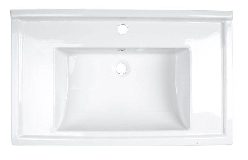 AQUALINE - ZENO 80 nábytkové umývadlo 80x48, 5cm (8080)