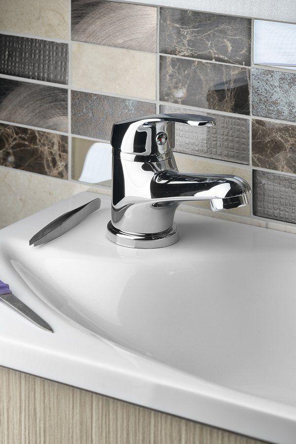 AQUALINE 35 stojánkova umývadlová batéria bez výpuste, chróm (52102)
